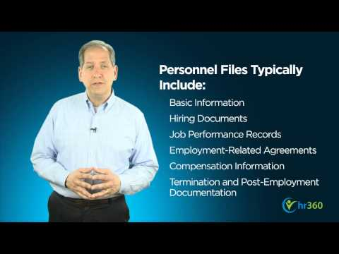 Do's and Don'ts of Employee Recordkeeping