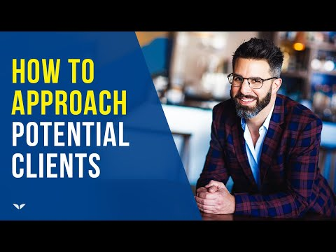 How To Approach Potential Clients (Try This!) | Rich Litvin