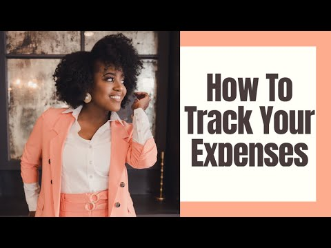 How To Track Your Expenses #budgetwithme