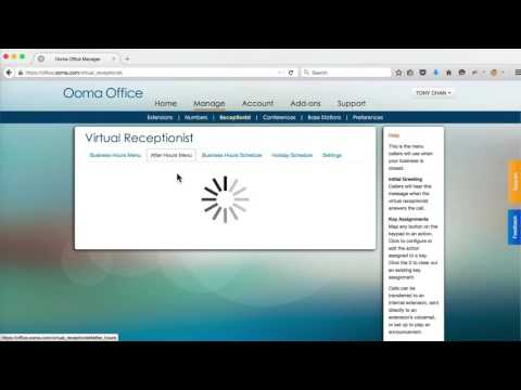 How to Manage Your Ooma Office Virtual Receptionist