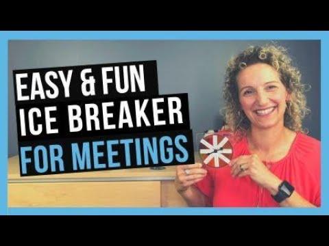 Fun Icebreakers for Meetings [TEAM BONDING ACTIVITIES FOR WORK]