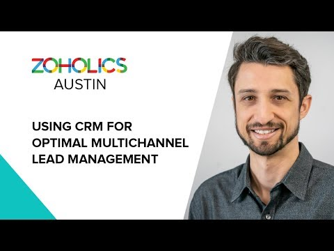 Using CRM for Optimal Multichannel Lead Management - Max Goldfine