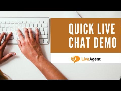 LiveAgent Live Chat Demo