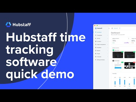 Hubstaff Time Tracking Software Quick Demo