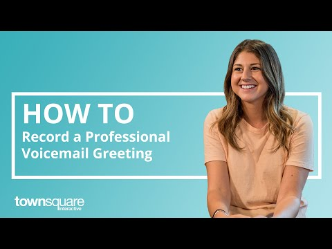 How to Record a Professional Voicemail Greeting