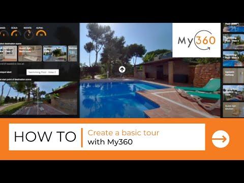 Tutorial: My First Tour (EN) ~ My360 Virtual Tour Software