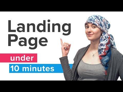Landing page under 10 minutes - complete guide 2019 | Landingi