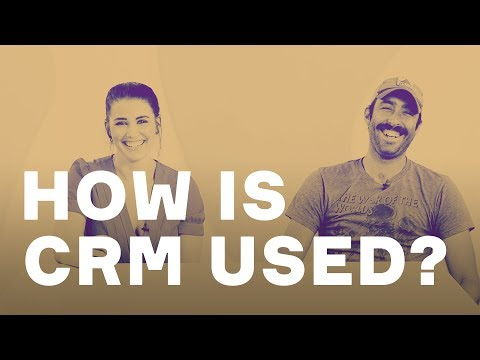 How do small businesses use CRM?