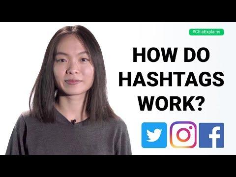 How hashtags work on social media: Twitter, Instagram & Facebook Hashtag Tips | #ChiaExplains
