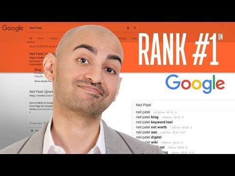Rank #1 on Google Using 7 Free SEO Tools | Neil Patel