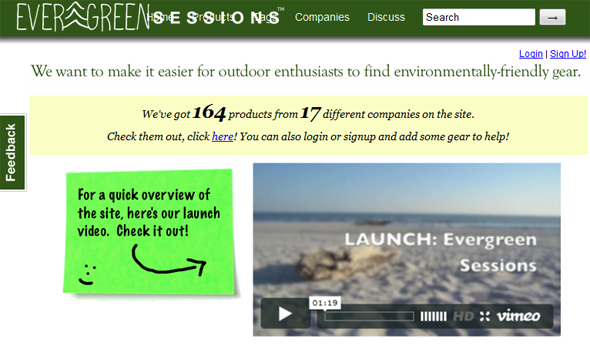 Evergreen Sessions - Startup Featured on StartUpLift