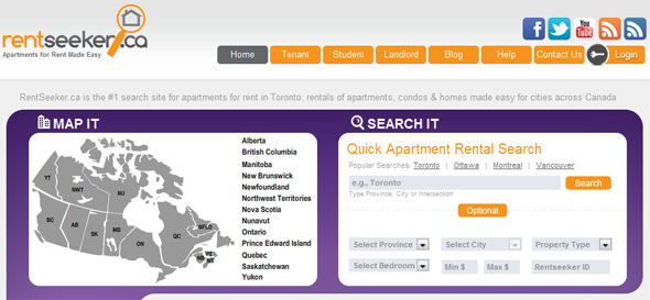 RentSeeker.ca - StartUp Featured on StartUpLift