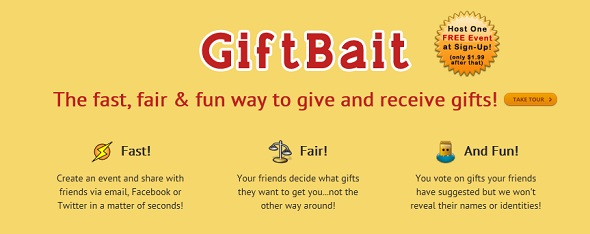 GiftBait startup Featured on StartUpLift