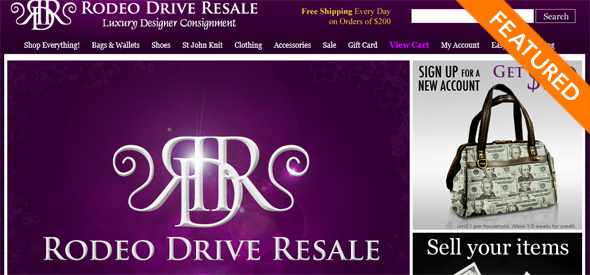 Rodeo Drive Resale - Startup Featured on StartUpLift