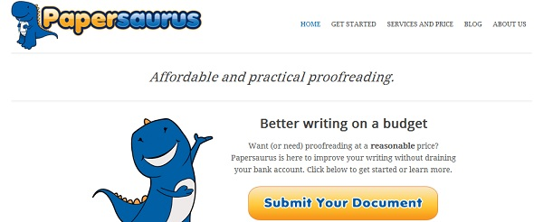 Papersaurus - startup featured on startuplift for website feedback and startup feedback