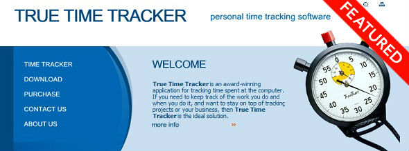 TrueTimeTracker - startup Featured on StartUpLift for Startup Feedback and Website Feedback