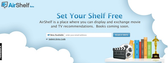 AirShelf - startup featured on StartUpLift for startup feedback and website feedback