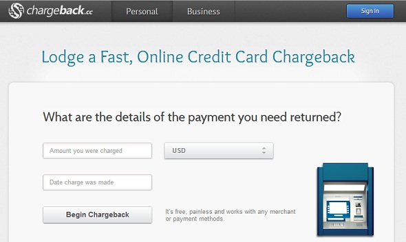 chargeback.cc - startup featured on StartUpLift for startup feedback and website feedback