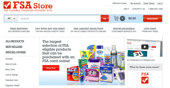 FSAStore-startup-featured-on-StartUpLift-for-Startup-Feedback-and-Website-Feedback