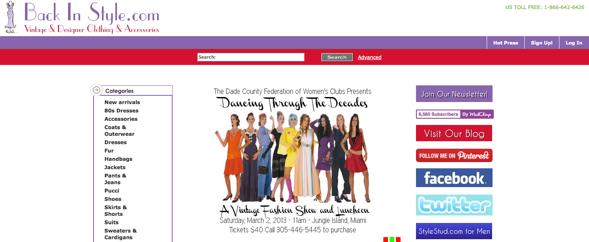 Designer Vintage Clothing Online an online Vintage Clothing