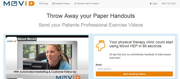 movid - startup featured on StartUpLift for startup and website feedback